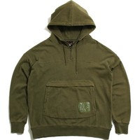 Pigment Pullover Hoodie Olive