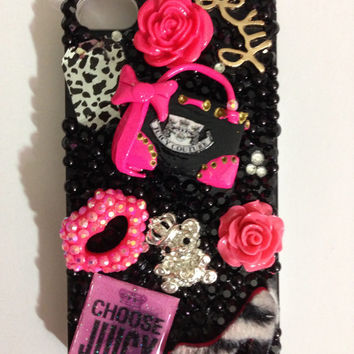 Juicy Couture Iphone 4 4s bling case/cover