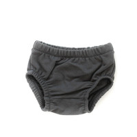 French Terry Baby Bloomers in Dark Gray