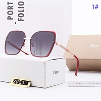 Dior New fashion polarized sun protection travel glasses eyeglasses women 1#