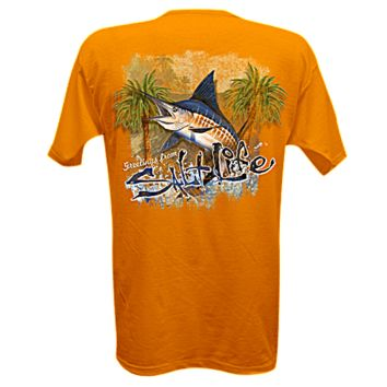 Salt Life | All Men's - Greetings From... Short Sleeve Pocket Tee