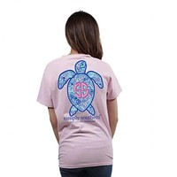 Save the Turtles Logo Shell Tee by Simply Southern