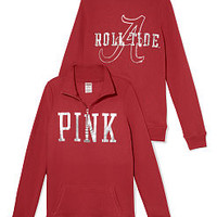 University of Alabama Bling Half-zip Pullover - PINK - Victoria's Secret