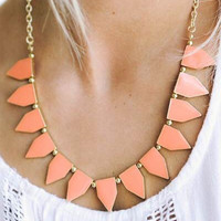 Aztec Triangle Necklace - 4 Colors