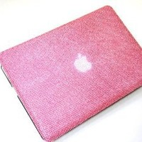 Baby Pink Diamante Bling,diamond Bling Case for 15-inch Macbook -Hard Case for the 15.4 Macbook Pro 2010/2011 and 2012 Models Aluminium