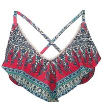 Lucky Brand Francesca Swimwear Top