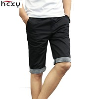 new arrival summer Men Shorts Straight Knee Length Mens Leisure Fashion Shorts classic style beach thin shorts man