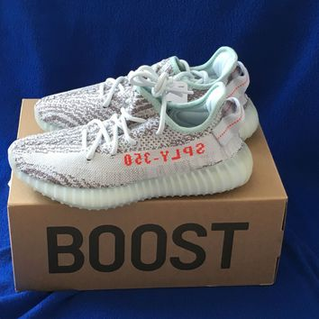 BRAND NEW ADIDAS YEEZY BOOST 350 V2 BLUE TINT B37571 MEN'S SIZE 5 NEW IN BOX