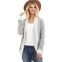 Soft and Cozy Cardigan - Heather Gray