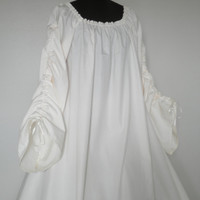 Full-length Beautiful Irish Leine Chemise Renaissance Under Dress many COLORS and SIZES available