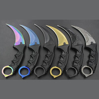 Karambit Knife CS GO Counter Strike Knives Survival Hunting Knife Camping Tools Herramientas