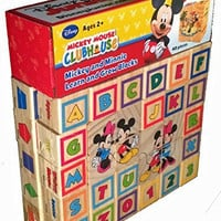 Mickey Mouse Clubhouse Mickey and Minnie Learn and Grow Blocks
