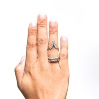 Limelight ring, silver