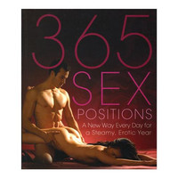 The New 365 Sex Positions Book