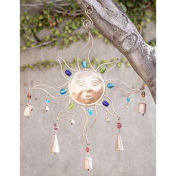 Celestial Sun Wind Chime - As Is Clearance