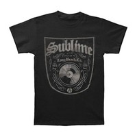 Sublime Men's  Bottled In LBC Slim Fit T-shirt Black