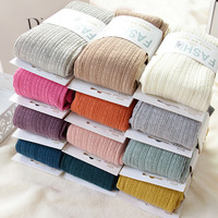 Free Shipping New Spring Autumn Winter Cotton Knited Stockings 15 Color Women Warm Twist Striped Tights 2 designs