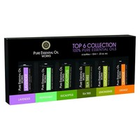 Top 6 Collection of Pure Essential Oils