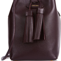 Tom Ford - Textured-leather bucket bag