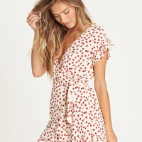 Wrap And Roll Mini Dress 828570404758 | Billabong