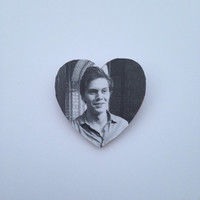 Evan Peters American Horror Story Asylum Pin Button