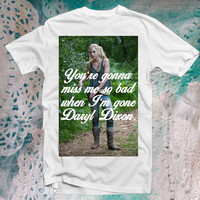 The Walking Dead: You're Gonna Miss Me shirt
