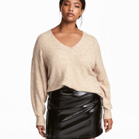 H&M H&M+ V-neck Sweater $29.99