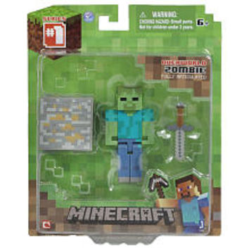 Minecraft - Core Zombie with Accessory