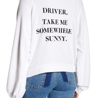 WILDFOX | Back Graphic Hooded Jacket | Nordstrom Rack
