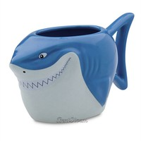 Licensed cool NEW Disney Store Exclusive Pixar Finding Nemo BRUCE SHARK Ceramic Coffee Mug Cup