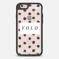Change Your iPhone Case Every Day | Casetify iPhone Case | Yolo Design by Chalkfulloflove (iPhone 6, 6s, 6 Plus, 6s Plus, 7)