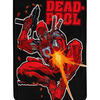 Marvel Universe Deadpool Micro Raschel Throw