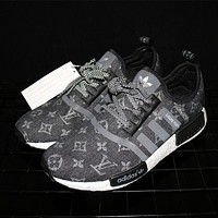 Adidas NMD x Louis Vuitton Boost Black Sneakers G