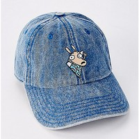 Denim Rocko's Modern Life Dad Hat - Nickelodeon - Spencer's