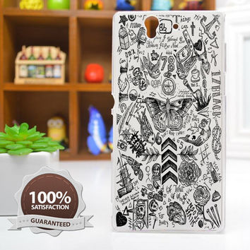 One Direction Case Harry Styles Tattoo Phone Case for iPhone 6 / 5c / 5/5s / 4/4s, Galaxy S6, S5, S4, S3, Xperia Z,Z1,Z2