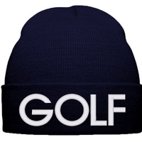 GOLF BEANIE WINTER HAT