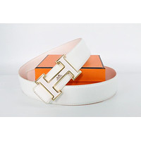 Hermes belt men's and women's casual casual style H letter fashion belt360