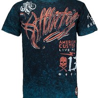 Affliction American Customs Scripted T-Shirt