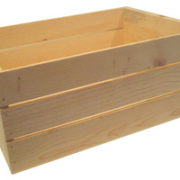 22-inch Wooden Crate