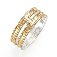 Women's Anna Beck Double Bar Band Ring - Gold
