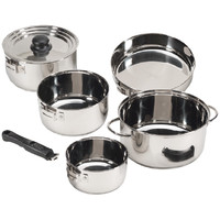 Stansport 7-piece Cook Set