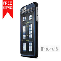 Tardis Doctor Who And Serlock Home Door B TMN iPhone 6 Case