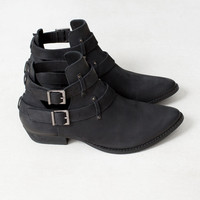 LEATHER OPENWORK ANKLE BOOTS - NEW PRODUCTS - WOMAN -  Ireland