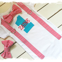 Mommy and Me DR. SUESS Boys First BIRTHDAY Bodysuit Set-Boys 1st Birthday One Piece-Boys Birthday Shirt Outfit with Name-Cat in The Hat