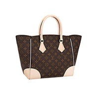 Authentic Louis Vuitton crossbody  handbag  Classic  Simple  Wanelo  ladies  fashion Best Seller formal Monogram Canvas Phenix MM Bag Handbag Article: M41540 Made in France