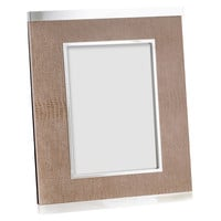 Silver Plated 5x7 Frame, Lizard, Other Lifestyle Accessories