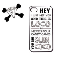 mean girls inspired glen coco typography poster on by CudageCase