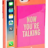 kate spade new york 'now you're talking' iPhone 6 case | Nordstrom