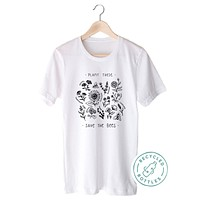 Plant These, Save The Bees - Eco Tee