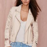 Nasty Gal Leather - Slayer Moto Jacket